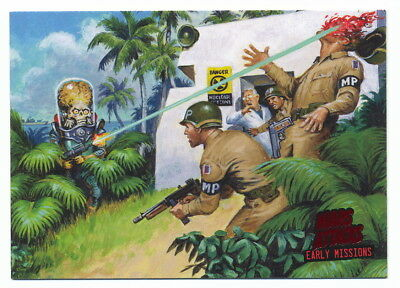 2013 Topps Mars Attacks Invasion Early Missions #2 Disaster at Marshall Island