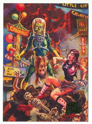 2013 Topps Mars Attacks Invasion Masterpieces #2 Babes to the Slaughter