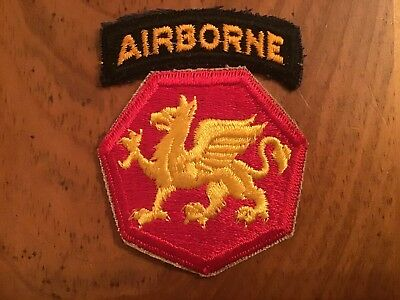 Ww2 Us Army 108Th Airborne Division Patch