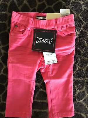 Tommy Hilfiger Baby 6-9 Months Pink Jeans