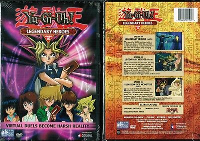Yu Gi Oh Vol 15 Legendary Heroes New Anime DVD Funimation Release