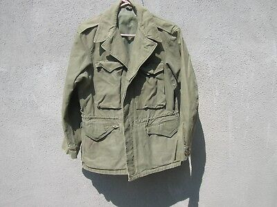 Vintage  US Military WWII WW2 Field Jacket ,ORIGINAL USA MILITARIA FIELD JACKET
