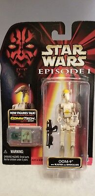 1998 Star Wars Episode 1 Oom-9 And Comm Tech Chip