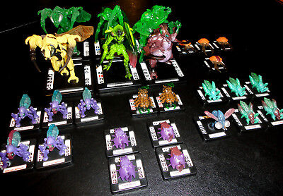 MONSTERPOCALYPSE SAVAGE SWARM 27-Pc. ARMY/FACTION BUNDLE - 3 MONSTERS w/Ultras