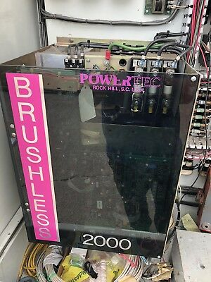 Powertec C0252.N4CH000 Brushless 2000 DC Drive Motor Speed Controller 25Hp