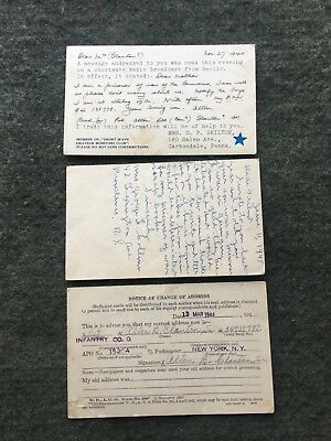 WWII POW Postcards ~ Shortwave Amateur Monitor Notifying Mother Of Sons Capture
