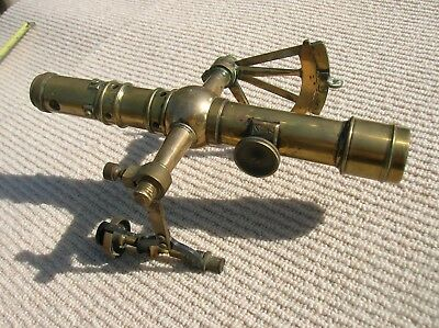 Vintage BRASS / BRONZE NAUTICAL TOOL , SCOPE , INSTRUMENT Compass-Navigation ?