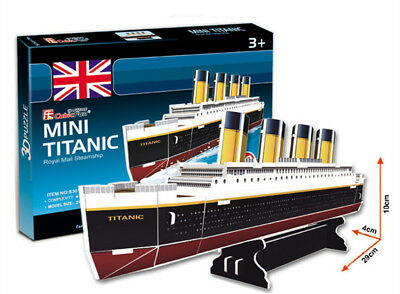 e88af85c 3D PUZZLE TITANIC Ship paper model DIY gift educational toy ...