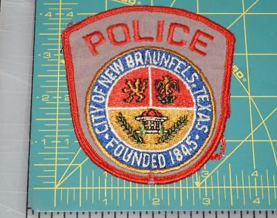 City Of New Braunfels Texas Police Department Patch (552)