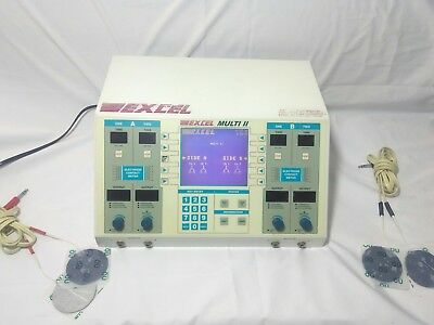 EXCEL TECH EXCEL MULTI III MU-4 Ultrasound Therapy Unit