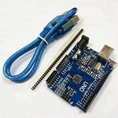 UNO R3 Atmega328P CH340G Development Board with USB Cable Pin Header for Arduino