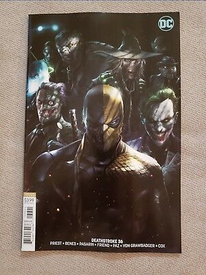 Deathstroke #36 (2018) Cover B Mattina Variant Low-Print Run HTF Rare Sold Out