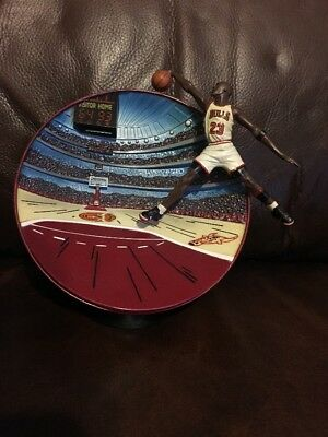 """Michael Jordan """"Breaking the Records - High Flyer"""" - Numbered -3D Plate/figure"""