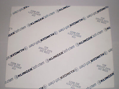 Soft-Chem Gasket Sheet Expanded PTFE 300 x 240 x 3mm A4 Size Free Express Post