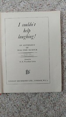 1943 I Couldn't Stop Laughing- An Anthology of War-Time Humour