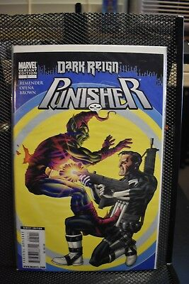 The Punisher 2009 #5 Dark Reign Mike McKone Variant Marvel Comics Rick Remender
