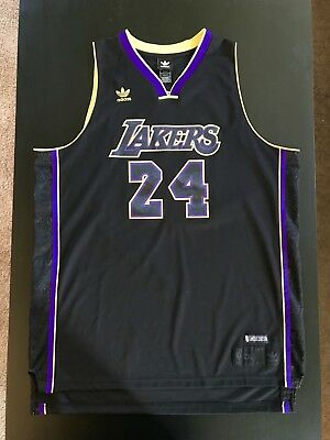 8359250aec5 NBA Kobe Bryant Los Angeles Lakers Limited Edition Adidas Jersey #24 Men's  2XL