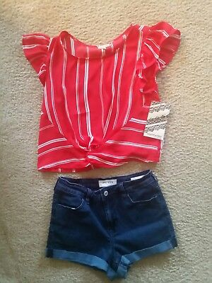 Junior Women Summer Outfit Lot Size Small !! SO CUTE!!