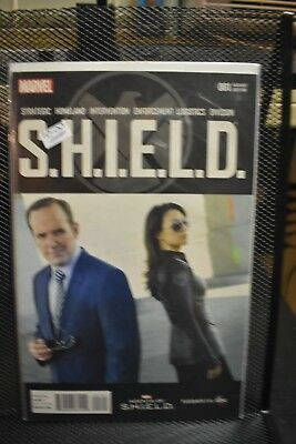 SHIELD #1 Marvel Agents of SHIELD Photo Variant Marvel Comics ABC TV Show