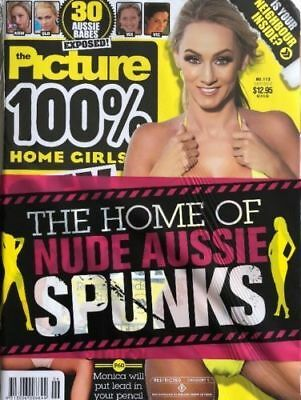 The Picture Magazine 100% Home Girls Issue 113 Restricted(R) Sep/Oct 2018 - New