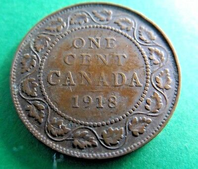 Canada 1918 One Cent