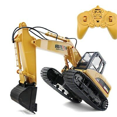 Hydraulic Excavator Toy Remote Control Engineering Digging Toys Wireless Kids