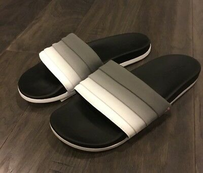 35abcd3931cff9 Adidas Adilette CF + Armad Slides Sandals Shoes New Women s Size 8 Black  White