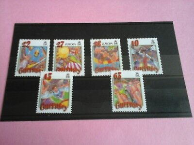Guernsey 2002 Europa: The Circus MNH unmounted mint