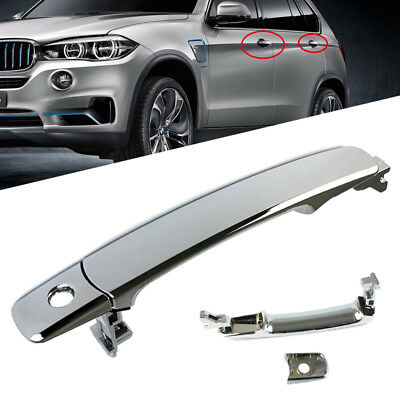 Front Left Driver Side Outside Exterior Chrome Door Handle for Nissan Infiniti