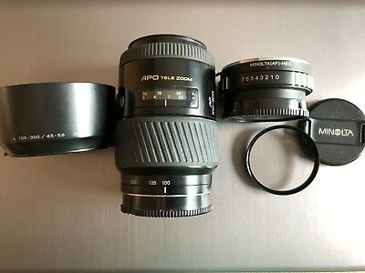 Minolta AF 100-300 f4.5-5.6 APO Tele Zoom for Sony A mount