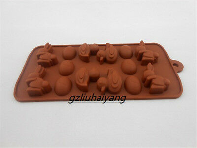 Small Rabbit Duck Silicon Cake Decorating Cookie Chocolate Mold Baking Tools