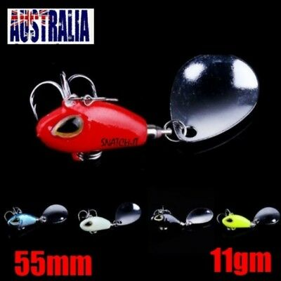 Fishing Lures Metal VIBE Lure Spinner Bream Bass Flathead Trout Cod Freshwater