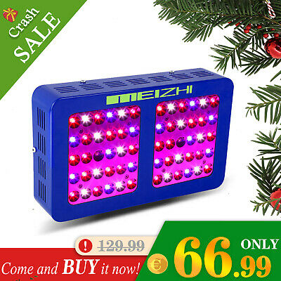 MEIZHI 300W LED Grow Light 12 Band Full Spectrum with VEG BLOOM Switches Medical