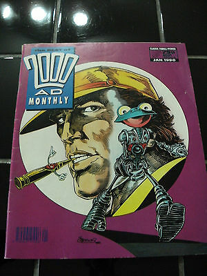 """The Best Of 2000AD Monthly""-Comic Jan 1990-Number 52 VINTAGE/RARE?COLLECTIBLE"