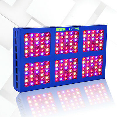 MEIZHI 900W LED Grow Light Full Spectrum with VEG BLOOM Switches Indoor Plants