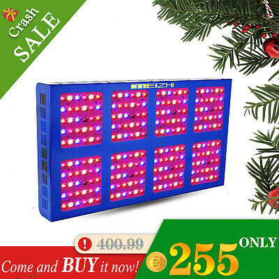 MEIZHI 1200W LED Grow Light Full Spectrum With VEG BLOOM Switches Indoor Plants