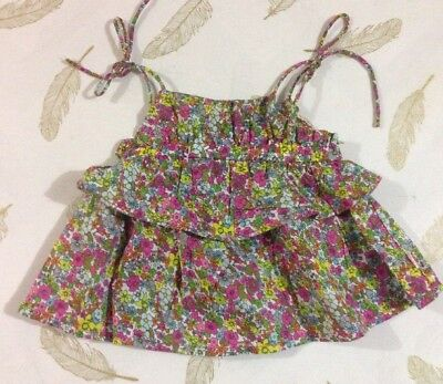 Fred Bare Baby Girls Tie Strap Top Size 000