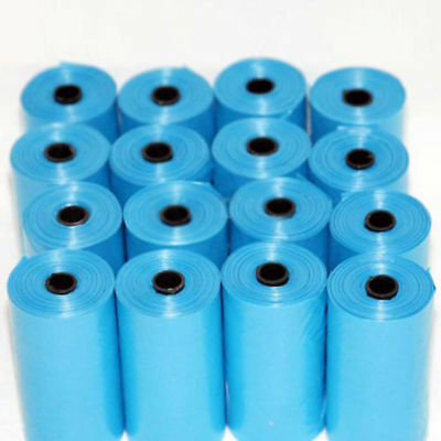 20x Rolls Portable 400 Dog Pets Waste Poop Poo Refill Core Pick Up Clean-Up Bag