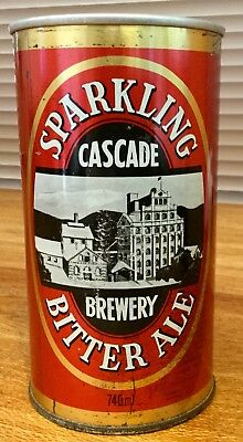 Cascade Sparkling Bitter Ale. 740ml. Steel Beer Can.