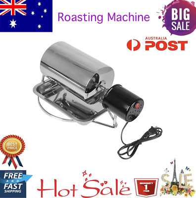New Stainless Steel Coffee Bean Electric Roasting Machine With Tray Roaster