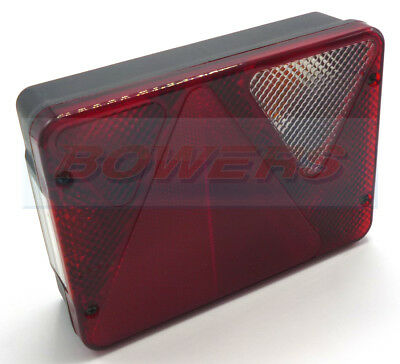 Ajba Aj.ba Rl80 Right Hand Erde Daxara Trailer Replacement Rear Tail Light Lamp