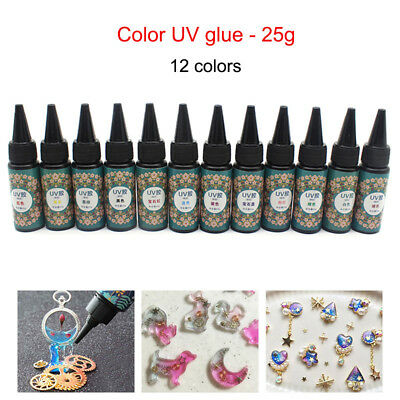 UV Resin 25g Ultraviolet Curing Epoxy Resin for DIY Jewelry Making Craft Decor