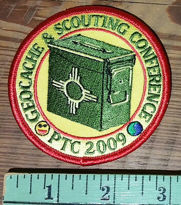 Philmont Training Center PTC - 2009 Geocache and Scouting Conference Patch