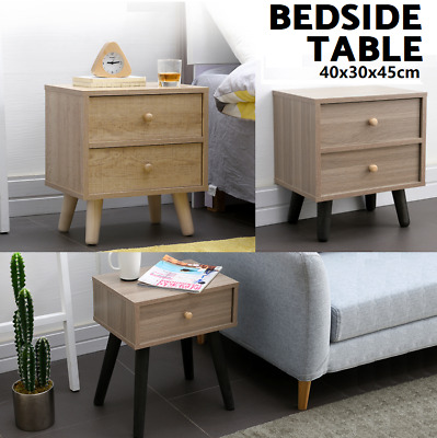 Bedside Tables Bedside Table Side Nightstand Unit Cabinet Lamp Side Table