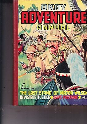 Okay Adventure Annual   No 3 1956 The Popular Press/tv Boardman