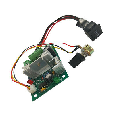 DC 6A Motor Speed Control Reversible PWM Controller Switch DC 6V-30V
