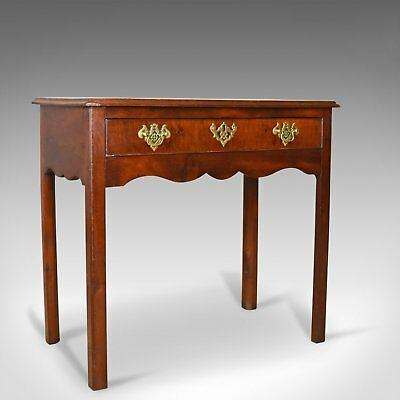 Antique Lowboy, Mahogany, Late Georgian, English Side Table, Circa 1800