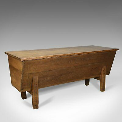 Antique Boulangerie Dough Bin, Large, French, Elm, Chest, Circa 1800