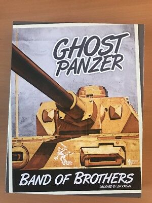 Band of Brothers Ghost Panzer Erste Edition,Cosim Game,Worthington Games