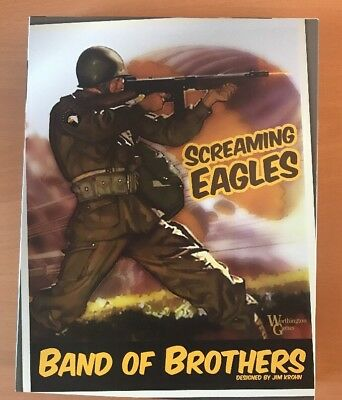 Band of Brothers Screaming Eagles , Erste Edition, Worthington Games, COSIM GAME